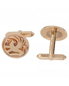 Pre-Owned 9ct Yellow Gold Vauxhall Design Cufflinks