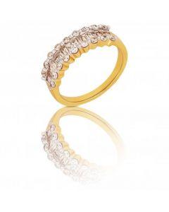 New 18ct Gold Baguette & Brilliant Cut Diamond Eternity Ring