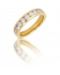 New 9ct White Gold 1.00ct Diamond Eternity Ring