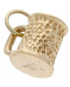 Pre-Owned 9ct Yellow Gold Tankard Charm