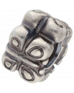 Pre-Owned Pandora Silver Butterfly Spacer Charm