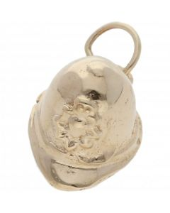 Pre-Owned 9ct Yellow Gold Police Helmet Charm