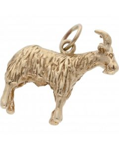 Pre-Owned 9ct Yellow Gold Goat Charm