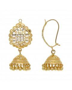 Pre-Owned High Carat Fancy Ornate Drop Earrings
