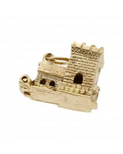 Pre-Owned 9ct Yellow Gold Church Wedding Charm
