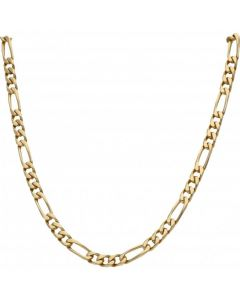 Pre-Owned 9ct Yellow Gold 18 Inch Figaro Chain Necklace