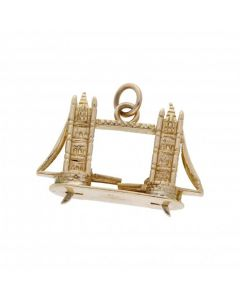 Pre-Owned 9ct Yellow Gold Bridge Charm
