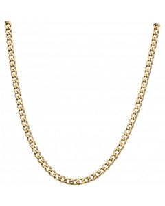 Pre-Owned 9ct Yellow Gold 23 Inch Curb Chain Necklace