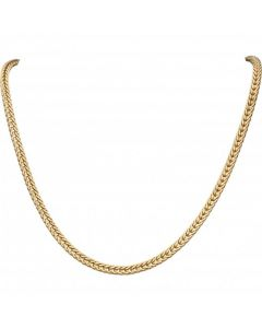 Pre-Owned 9ct Yellow Gold 16 Inch Fancy Link Collarette Necklet