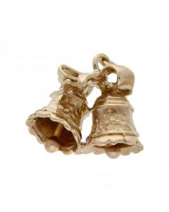 Pre-Owned 9ct Yellow Gold Wedding Bells Charm