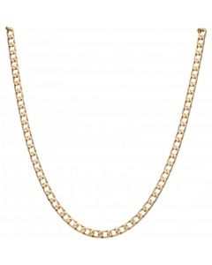 Pre-Owned 9ct Yellow Gold 18 Inch Curb Chain Necklace
