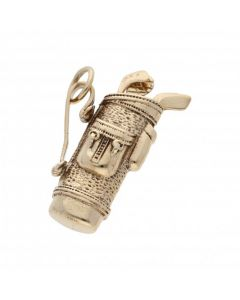 Pre-Owned 9ct Yellow Gold Gold Clubs Charm