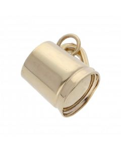 Pre-Owned 9ct Yellow Gold Hollow Tankard Charm