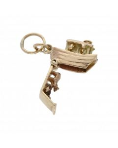 Pre-Owned 9ct Yellow Gold Opening Noahs Ark Charm