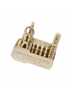 Pre-Owned 9ct Yellow Gold Westminster Abbey Charm