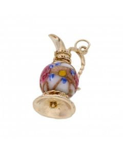Pre-Owned 9ct Yellow Gold Fancy Ornate Jug Charm