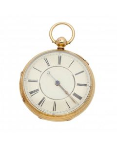 Pre-Owned 18ct Gold Hargreaves & Co, Liverpool Pocket Watch