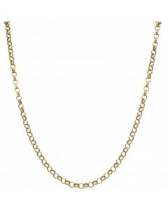 Pre-Owned 9ct Yellow Gold 20.5 Inch Belcher Chain Necklace