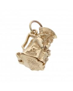 Pre-Owned 9ct Yellow Gold Opening Toby Jug Charm