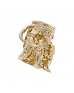 Pre-Owned 9ct Yellow Gold Toby Jug Charm