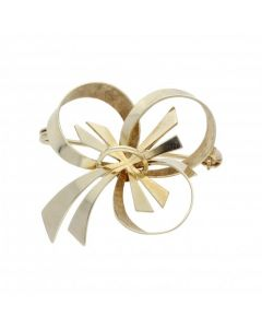 Pre-Owned 9ct Yellow Gold Shamrock Brooch