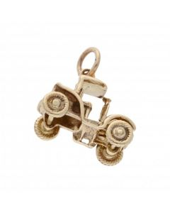 Pre-Owned 9ct Yellow Gold Vintage Car Charm