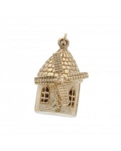 Pre-Owned 9ct Yellow Gold Windmill Charm