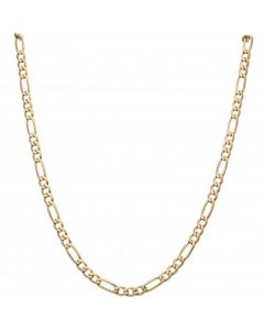 Pre-Owned 9ct Yellow Gold 29 Inch Figaro Chain Necklace