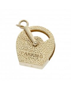 Pre-Owned 9ct Yellow Gold Parking Meter Charm