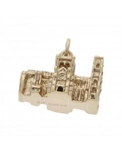 Pre-Owned 9ct Yellow Gold Abbey Charm