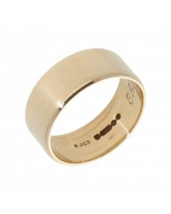 Pre-Owned 9ct Yellow Gold 7mm Wedding Band Ring