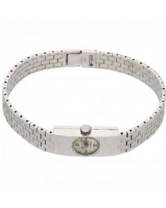 Pre-Owned 9ct White Gold Accurist Dress Watch