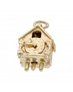 Pre-Owned 9ct Yellow Gold Cuckoo Clock Charm