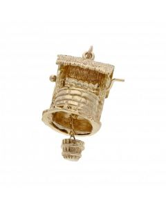 Pre-Owned 9ct Yellow Gold Wishing Well Charm