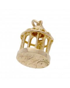 Pre-Owned 9ct Yellow Gold Birdcage Charm