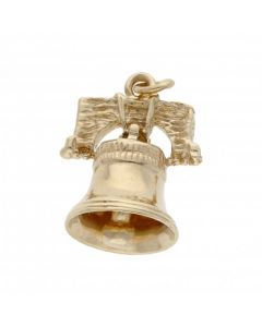 Pre-Owned 9ct Yellow Gold Bell Charm
