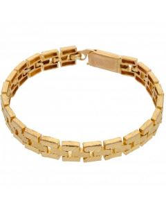 Pre-Owned High Carat 7.5 Inch Fancy Link Bracelet
