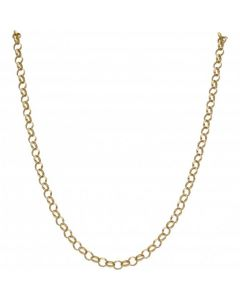 Pre-Owned 9ct Yellow Gold 24 Inch Belcher Chain Necklace
