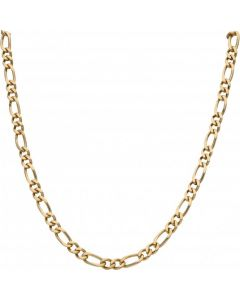 Pre-Owned 9ct Yellow Gold 29 Inch Heavy Figaro Chain Necklace