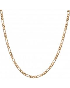 Pre-Owned 9ct Yellow Gold 28 Inch Heavy Figaro Chain Necklace