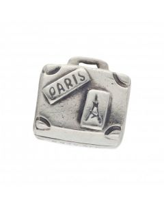 Pre-Owned Pandora Silver Holiday Suitcase Charm