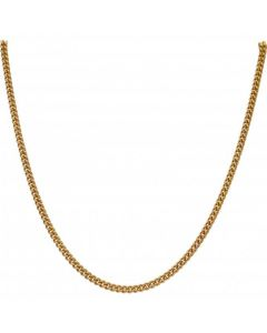 Pre-Owned 9ct Yellow Gold 23.5 Inch Curb Chain Necklace