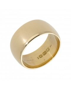 Pre-Owned 18ct Yellow Gold 10mm Wedding Band Ring