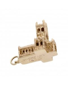 Pre-Owned 9ct Yellow Gold Buckfast Abbey Charm