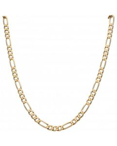 Pre-Owned 9ct Yellow Gold 24 Inch Figaro Chain Necklace