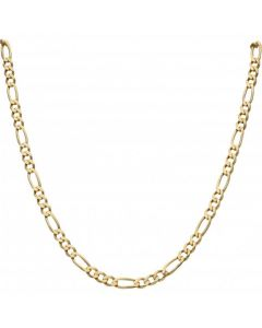 Pre-Owned 9ct Yellow Gold 30 Inch Figaro Chain Necklace