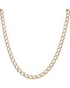 Pre-Owned 9ct Yellow Gold 21 Inch Curb Chain Necklace