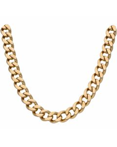 Pre-Owned 9ct Yellow Gold 25.5 Inch Heavy Curb Chain Necklace