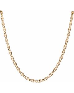 Pre-Owned 9ct Gold 24 Inch Diamond Anchor Link Chain Necklace