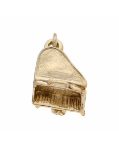 Pre-Owned 9ct Yellow Gold Piano Charm